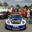 Rob Blake Juan Lopez-Santini and Steve Hill Victory Lane Road America International GT