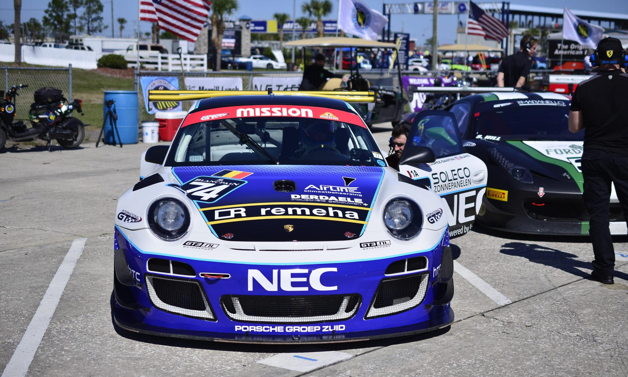Blake / Lopez-Santini GT Racing