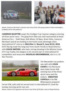 Porsche 991 Racing