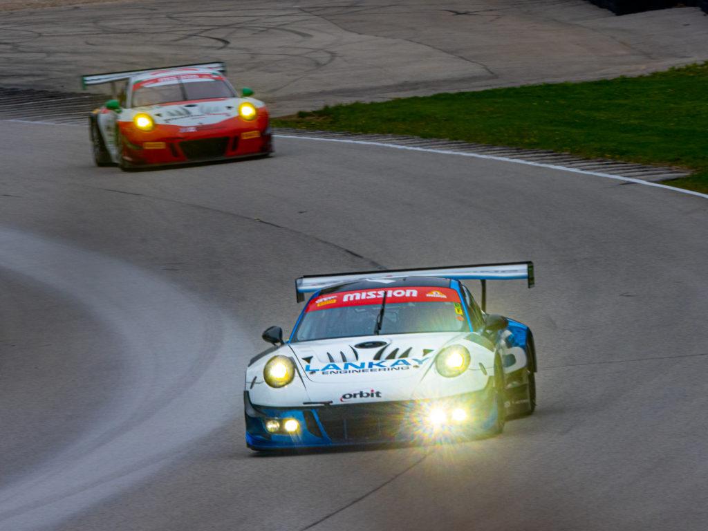 Porsche 991 GT3-R at Road America Art of Racing In The Rain